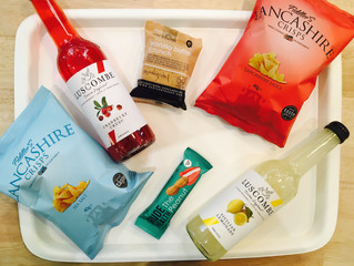 New UK snackings & sodas en vente chez Félicie ! Chips artisanales Fiddler's Lancashire, bar