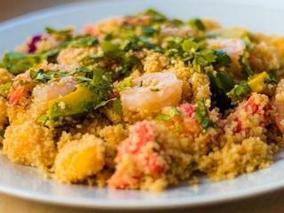 Mmmmmhhh cette salade des îles.....