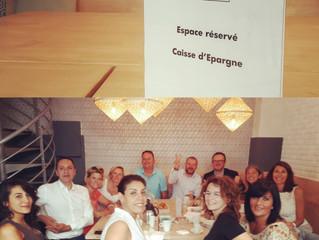Privatisation pour petit déj Caisse d'Epargne : ça se voit sur les visages, tout s'est bien passé 😃