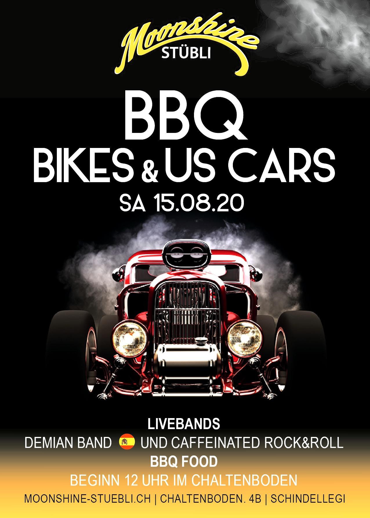 BBQ, Bikes & US Cars Meeting
