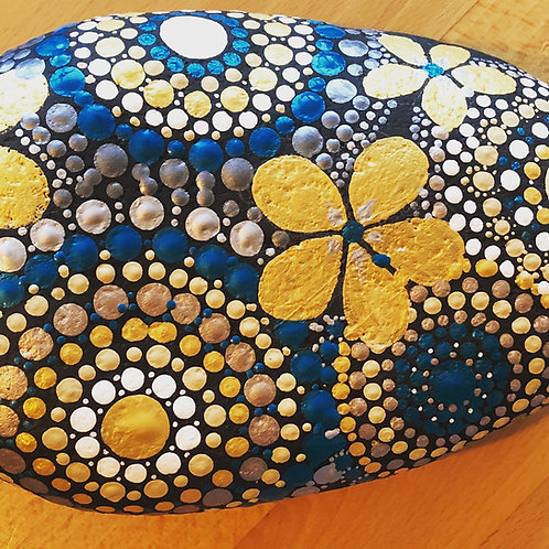 Mandala large stone for sale gift present garden decor