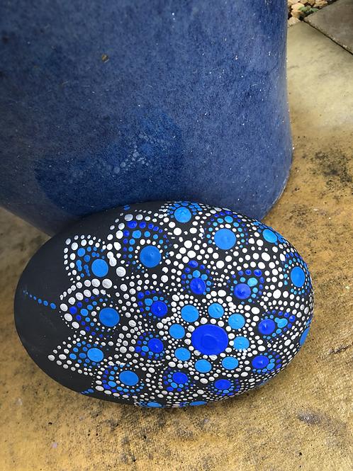 Mandala Stone dotting stone large garden sale buy