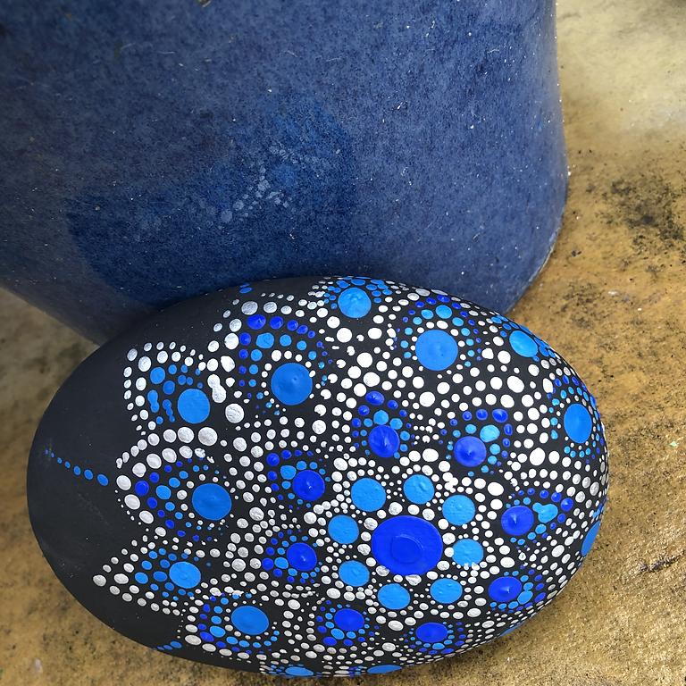 Mandala Stone Dotting Workshop - 1 space left