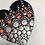 Mandala dotting heart love gift present sale buy Etsy