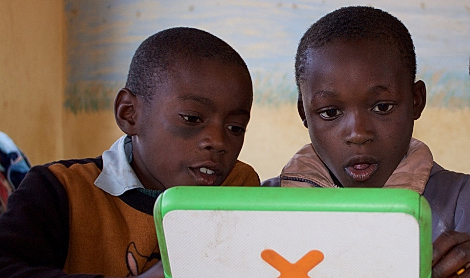 Donating solar powered computers to Africa