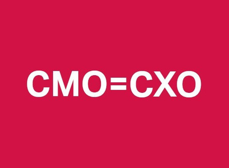 How are you CMO'ing?