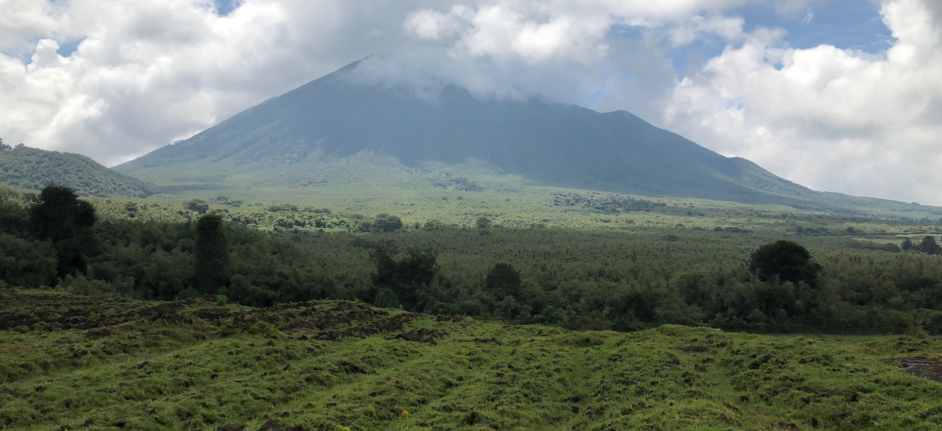 Rwanda, Farms Outside Volcanoes National Park