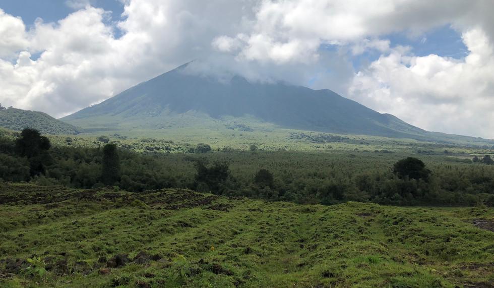 Rwanda, Farms Outside Volcanoes National Park