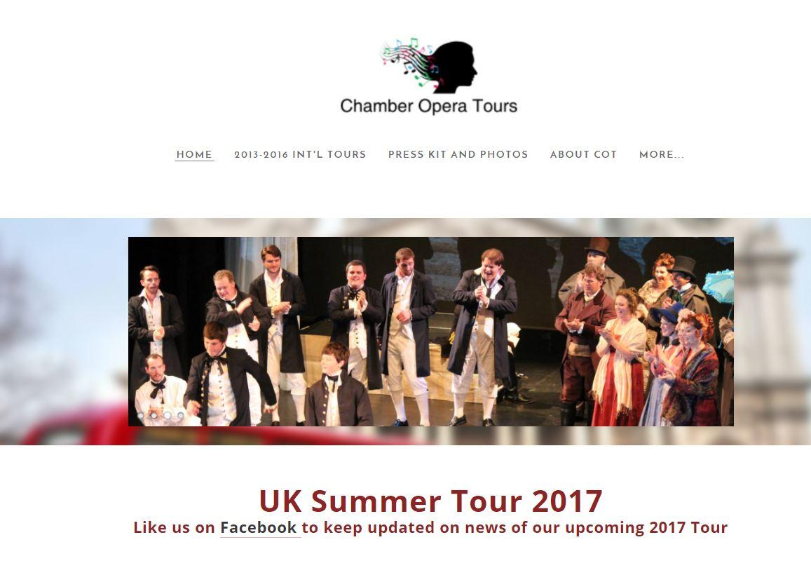 Chamber Opera Tours