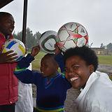 Henny's Kids Donates Soccer Balls to Kids in Africa