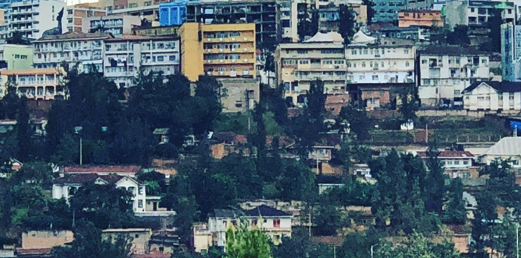 Rwanda Kigali city view
