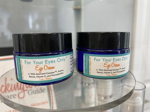 100% Organic Plant-Based For Your Eyes Only Eye Cream