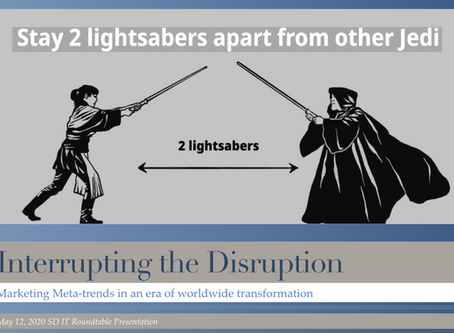 Interrupting the Disruption: Marketing Meta-trends in an era of Worldwide transformation