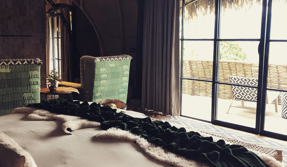 Rwanda Bisate Lodge room
