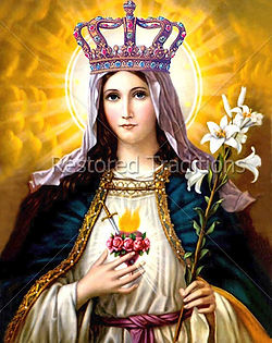 Our-Lady-as-Queen-Heaven-Earth-Vintage-I