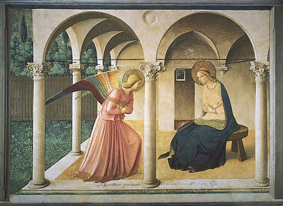Annunciation-Fra-Angelico-Florence-Museu