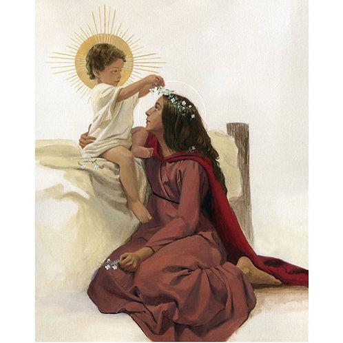 Print of Mary & Jesus - 8x10