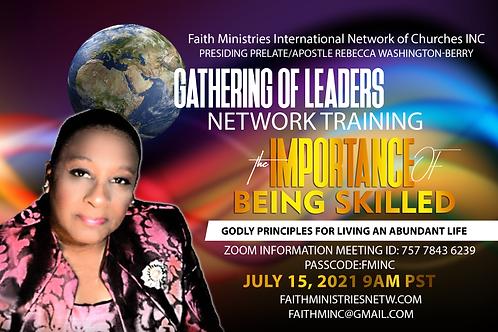 Gathering July 15, 2021