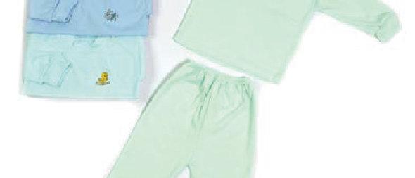 Buso y pantalón acanalado