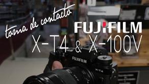 Toma de contacto. Fujifilm X-100V y X-T4