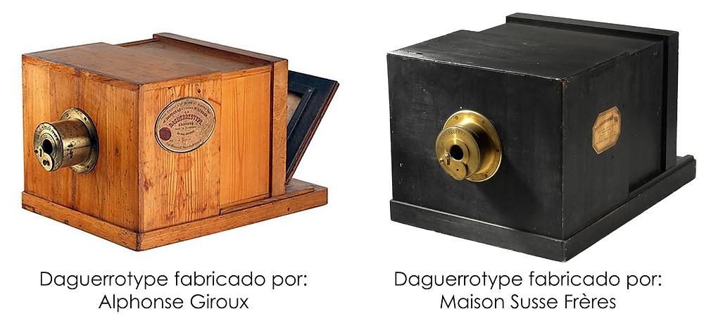 Cámaras fabricadas por Alphonse Giroux y los hermanos Susse