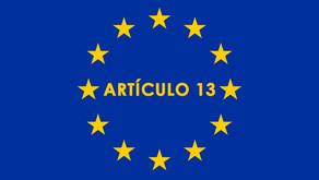 ¿Qué es el Artículo 13?