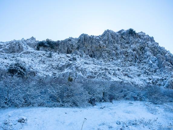 Filomena y la nieve