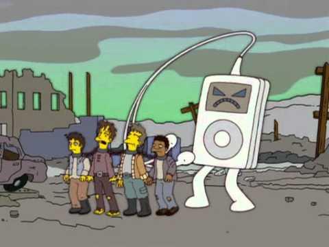 Esclavos de la Tecnología (fotograma de los Simpsons)