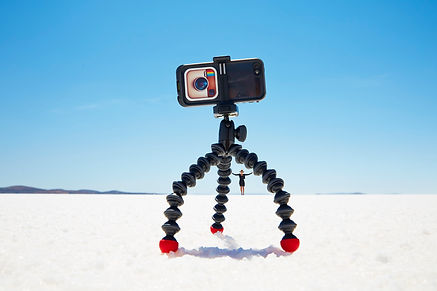 gorillapod on salt lake