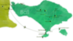 map bali