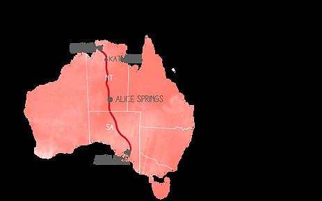 Melbourne Sydney Map