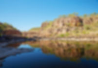 Katherine Gorge The ghan