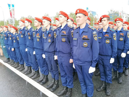 Участие студентов колледжа в мероприятии, посвященном 76-й годовщине Победы в Великой Отечественной