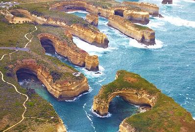 Great Ocean Road falaise