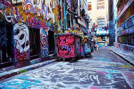 MELBOURNE LANEWAYS GRAFITIS HOZIER LANE
