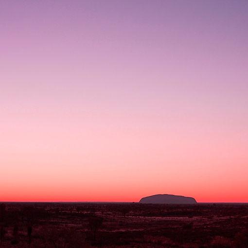 Uluru centre rouge