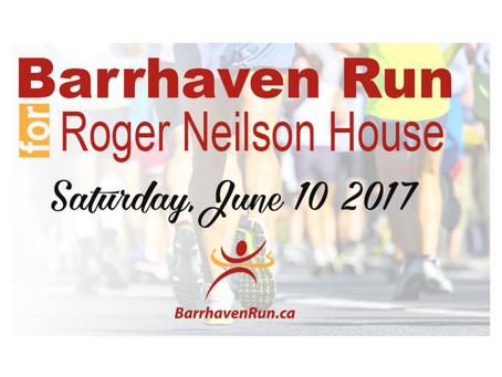 Proud Sponsors of the Barrhaven Run