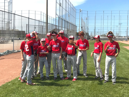 Congrats to our Southpointe Denta Ottawa Chiefs who participated in theBaseball Ontario 2017 Provin