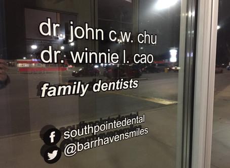 Welcome back Dr. Winnie Cao!