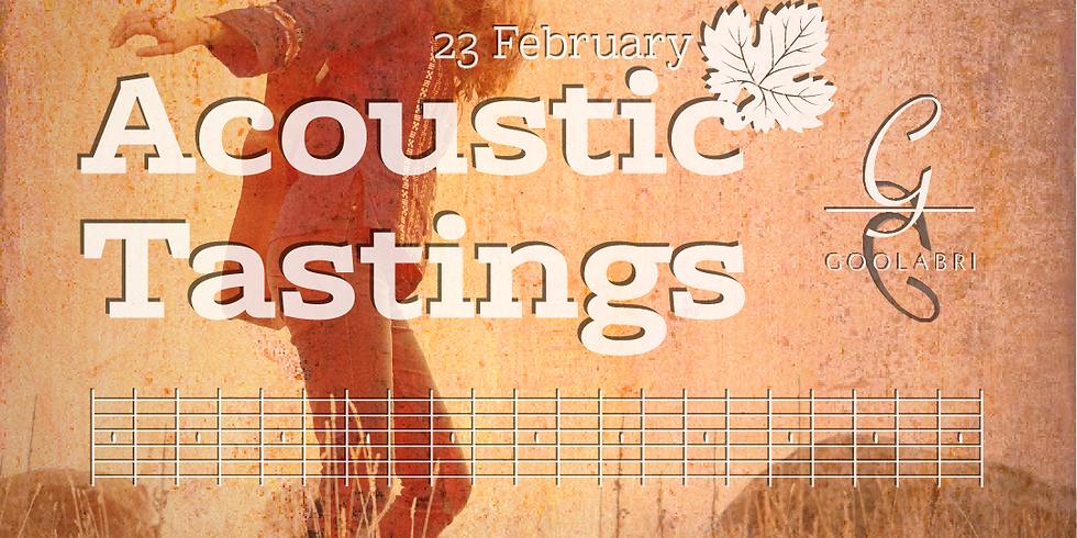 Acoustic Tastings February: feat. Rebecca Mann (1)