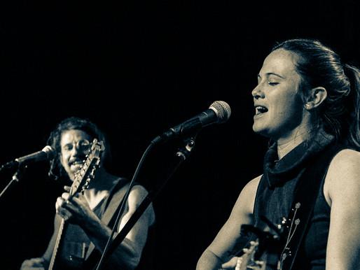 folk duo Sam + Rosie play Acoustic Tastings in May