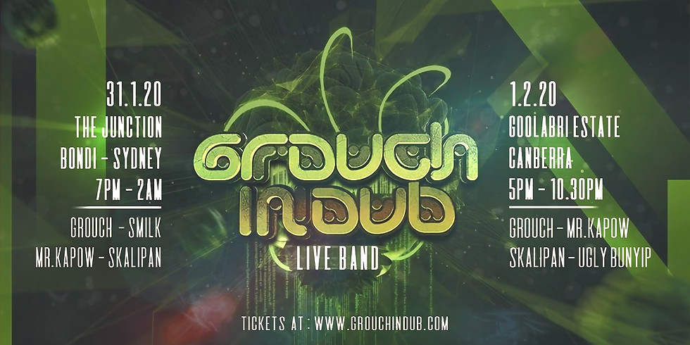 Grouch in Dub does Canberra