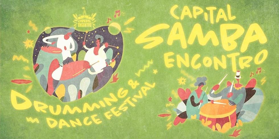 CAPITAL SAMBA ENCONTRO: Drumming and Dance Festival