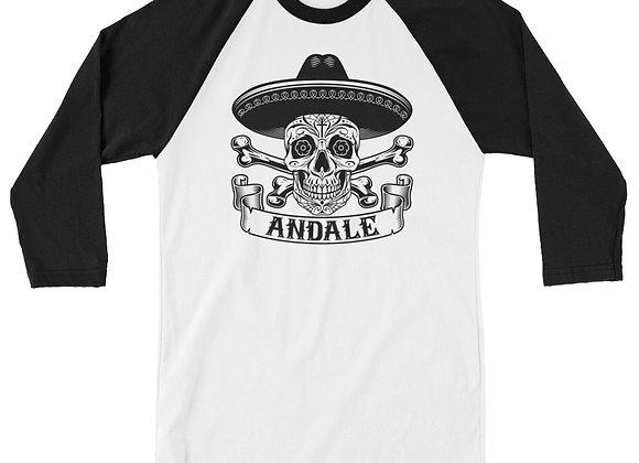 ANDALE 3/4 sleeve raglan shirt