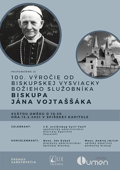 100 rokov biskupskej vysviacky BS biskup