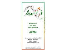 ADAM Plaquette présentation