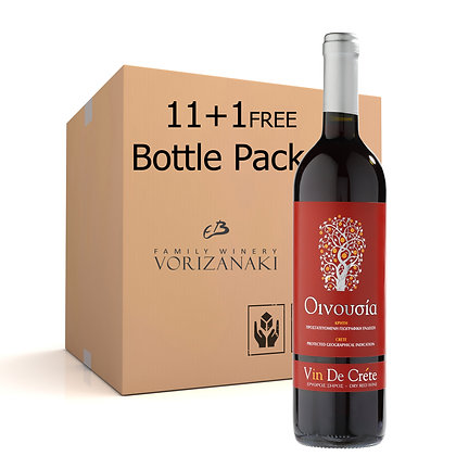 Oinousia Red 0.75L 11+1 Pack