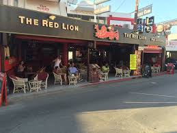 The Red Lion Bar & Restaurant, Stalida - Greece