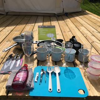 Glamping kit