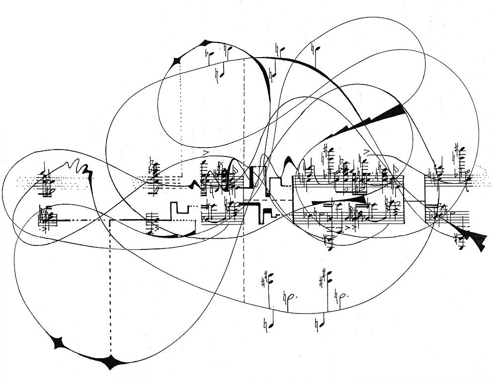 Zetaesse. EDA ÖZBAKAY. Con Ligeti si è giunti ai limiti della notazione tradizionale, dissolvendo la struttura del suono anche a livello grafico